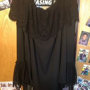 NWT OFF THE SHOULDER BLOUSE